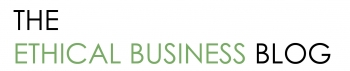 The Ethical Business Blog Logo