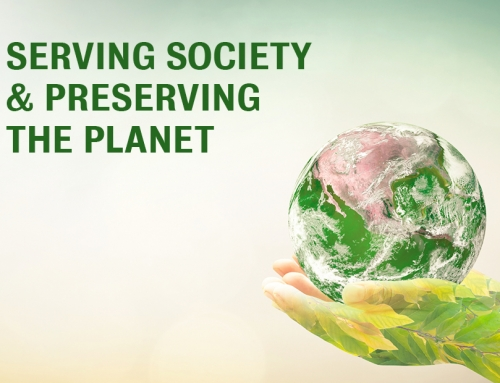 SERVING SOCIETY + PRESERVING THE PLANET